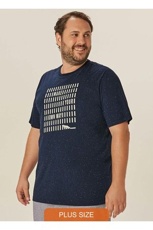 Malwee Plus Camiseta Marinho Tradicional Own Way