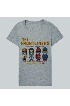Reserva Camiseta Fem The Frontliners 4 Casual Cinz