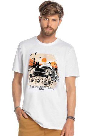 ENFIM Camiseta Branca Greetings From México
