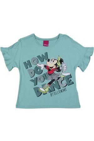 Disney Blusa em Viscose Estampada