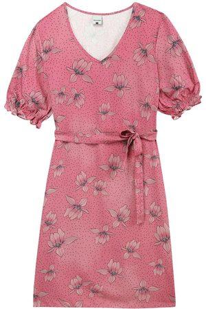 Malwee Mulher Vestido Estampado - Vestido Claro Curto Floral