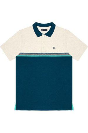 Rovitex Homem Camisa Formal - Camisa Polo Masculina Bicolor