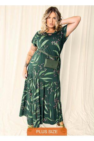 Secret Glam Vestido Plus Size Longo