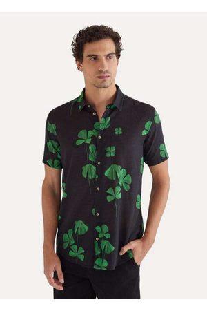 Reserva Homem Camisa Casual - Camisa Mc Estampada Sorte