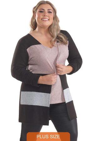 Lepoque Cardigan Plus Size Tricô Colors