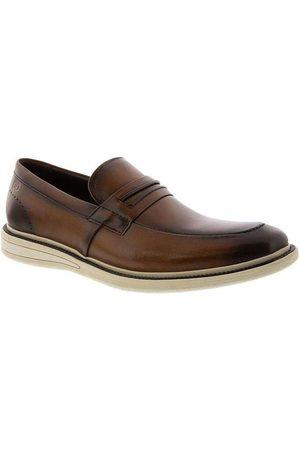 Democrata Homem Calçado Casual - Sapato Casual Metropolitan Bay Tan Couro
