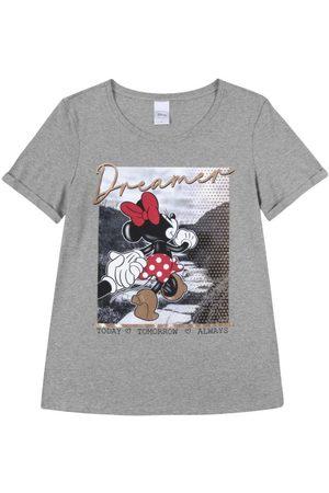 Disney T-Shirt Estampada com Fóil