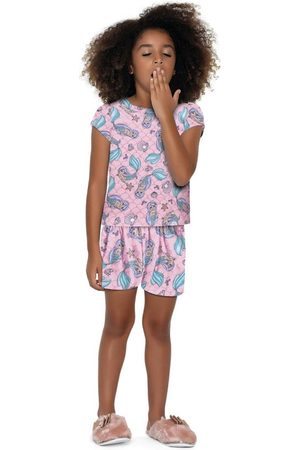 Fakini Kids Conjunto Pijama Curto Sereia