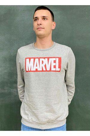 Marvel Casaco Masculino em Moletom