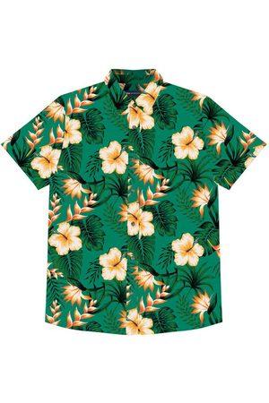 Rovitex Camisa Masculina Estampada Floral