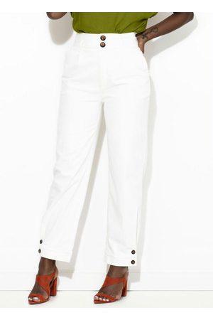 Colcci Calça Sarja Comfort Off White