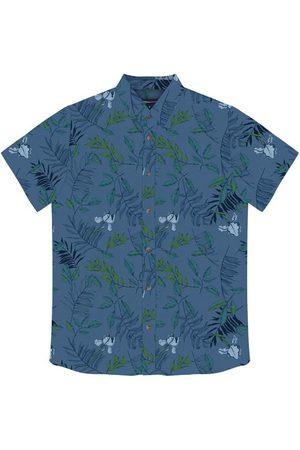 Rovitex Camisa Masculina Folhas
