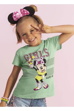 Disney Blusa em Meia Malha com Glitter