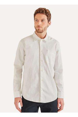 Reserva Homem Camisa Casual - Camisa Ml Travel