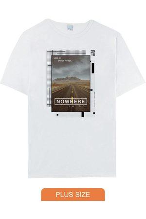 Malwee Plus Camiseta Branca Tradicional Nowhere