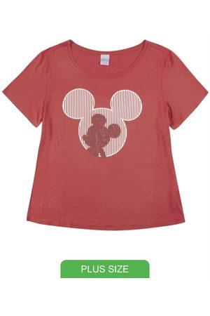 Disney T-Shirt com Aplicação de Pedras