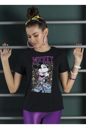 Disney Menina Meias - Blusa em Meia Malha com Bordado