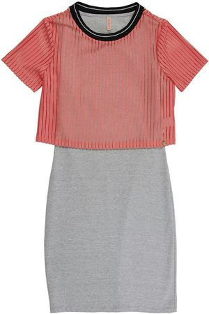 Cativa Teens Menina Vestidos - Vestido Curto com Blusa