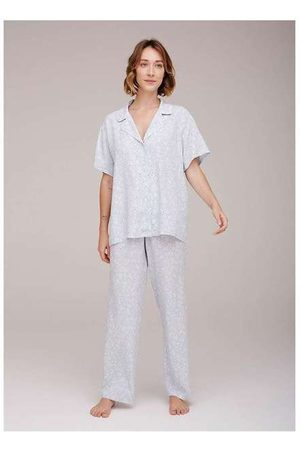 Hering Pijama Longo Estampado Feminino