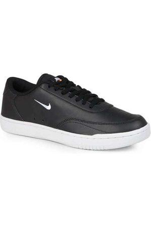 Nike Homem Calçado Casual - Tênis Casual Masculino Court Vintage Preto e
