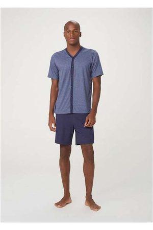 Hering Pijama Curto Masculino com Botões
