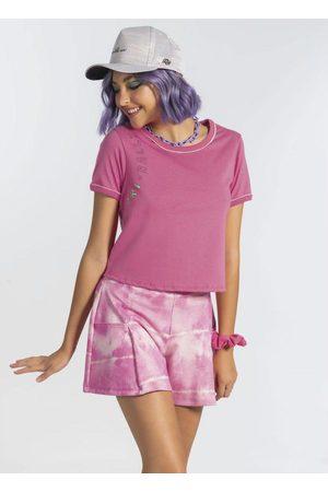 Cativa Teens Conjunto T-Shirt e Short Godê