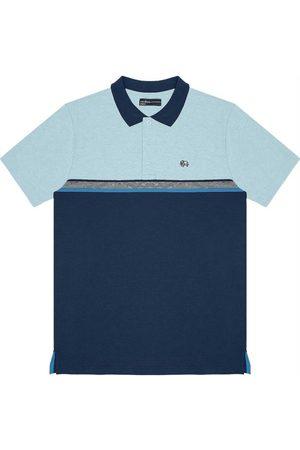 Rovitex Camisa Polo Masculina Bicolor