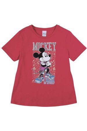Disney Blusa em Meia Malha com Bordado