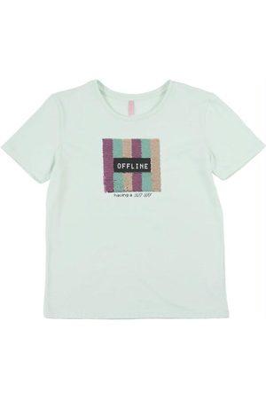 Cativa Teens T-Shirt com Bordado de Lantejoulas