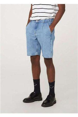 Hering Bermuda Jeans Masculina Tradicional de Algodão Azu