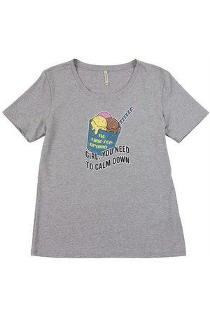 Habana Menina Camiseta - T-Shirt Juvenil em Viscose