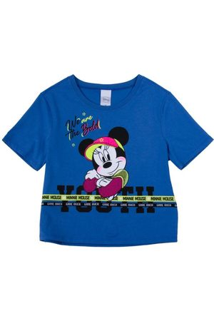 Disney Menina Blusa - Blusa Estampada com Aviamento