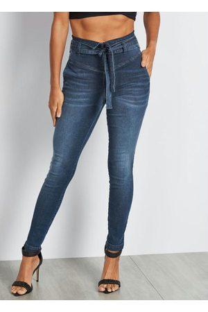 Colcci Mulher Calça Cintura Alta - Calça Jeans Cintura Alta