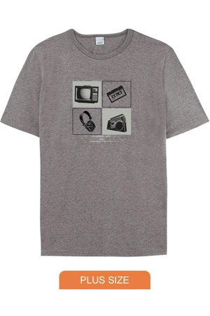 Malwee Plus Camiseta Escuro Tradicional 90'S Classic