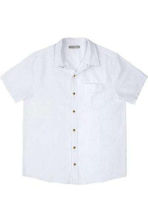 Hering Homem Camisa Manga Curta - Camisa Básica Masculina em Tecido Linho