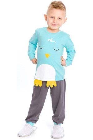 Rovitex Kids Menino Pijamas - Pijama Infantil Masculino Pássaros