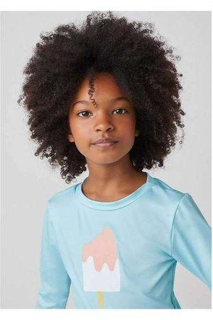 Hering Camiseta Infantil Menina Proteção Solar Uv