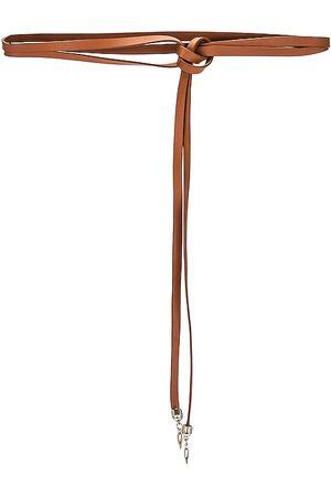 Lovestrength Lasso Wrap Belt in Cognac.