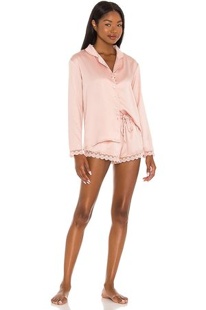 Flora Nikrooz Victoria Long Sleeve Short Set in . - size L (also in M, S, XS)