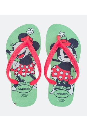 Havaianas Chinelo Infantil Estampa Minnie - Tam 23/24 ao 31/32 | | | 23/24