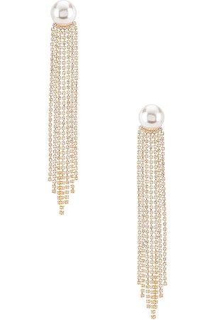 MEADOWE Esme Earrings in Metallic .