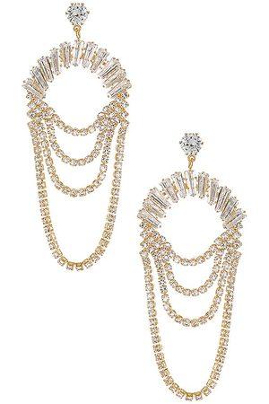 MEADOWE Mallory Earrings in Metallic .