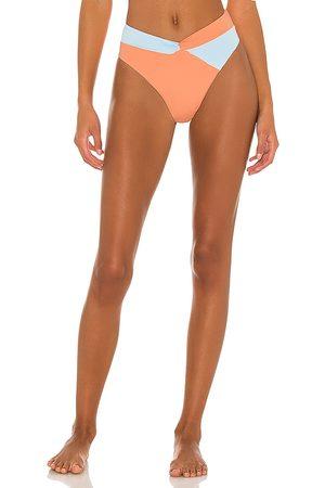 L*Space Nancy Lee Bikini Bottom in Peach. - size L (also in XS, S, M)