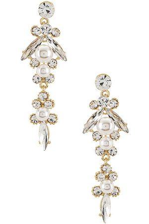 MEADOWE Celine Earrings in Metallic .