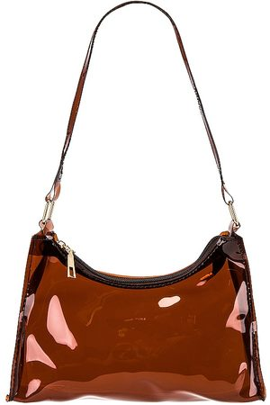 8 Other Reasons Clear Bag in Cognac.