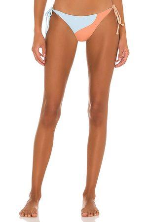 L*Space Dani Bikini Bottom in Peach. - size L (also in XS, S, M)