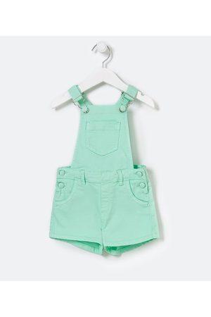 Póim (1 a 5 anos) Criança Jardineira - Jardineira Infantil em Sarja Neon - Tam 1 a 5 anos | | | 04
