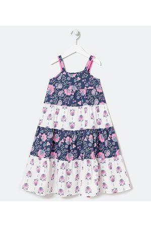 Fuzarka Criança Vestido Estampado - Vestido Infantil Marias Estampa Diferenciada - Tam 5 a 14 anos | | | 9-10