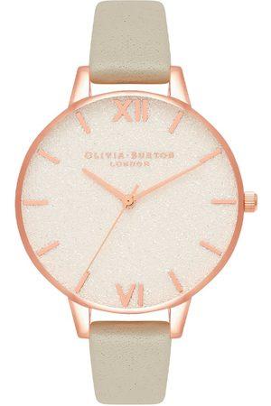 Vivara Mulher Relógios - Relógio Olivia Burton Feminino Couro Cinza OB16GD89