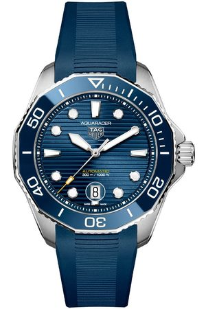 Vivara Homem Relógios - Relógio TAG Heuer Aquaracer Masculino Borracha Azul WBP201B.FT6198